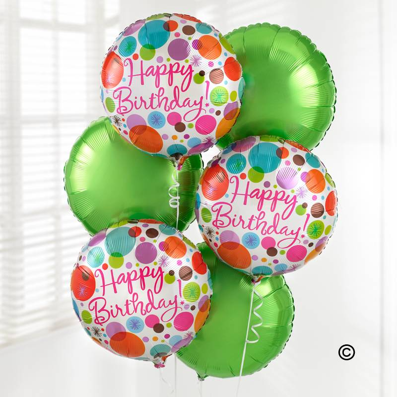 Send Your Happy Birthday Wishes With This Fabulous Balloon Bouquet Created Three