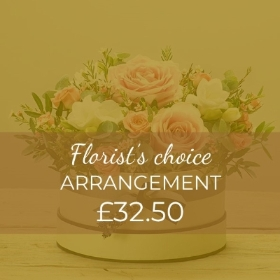 What could be more wonderful that a stunning arrangement of seasonal flowers. Our skilled florists will create this fresh flower arrangement that offers fantastic convenience as well as beauty. We'll create a design that is loved in a container that will be lovely keepsake.